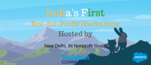 Guide to India's First NotForProfit Hackathon Part 1