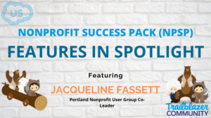 NPSP Features In Spotlight Featuring Jacqueline Fassett