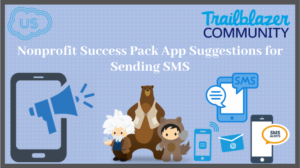 Nonprofit Success Pack App Suggestions for Sending SMS